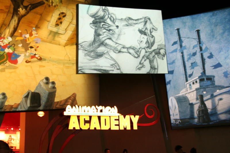 The Animation Building: One of our favorite places to Visit on a Hot Summer Day!