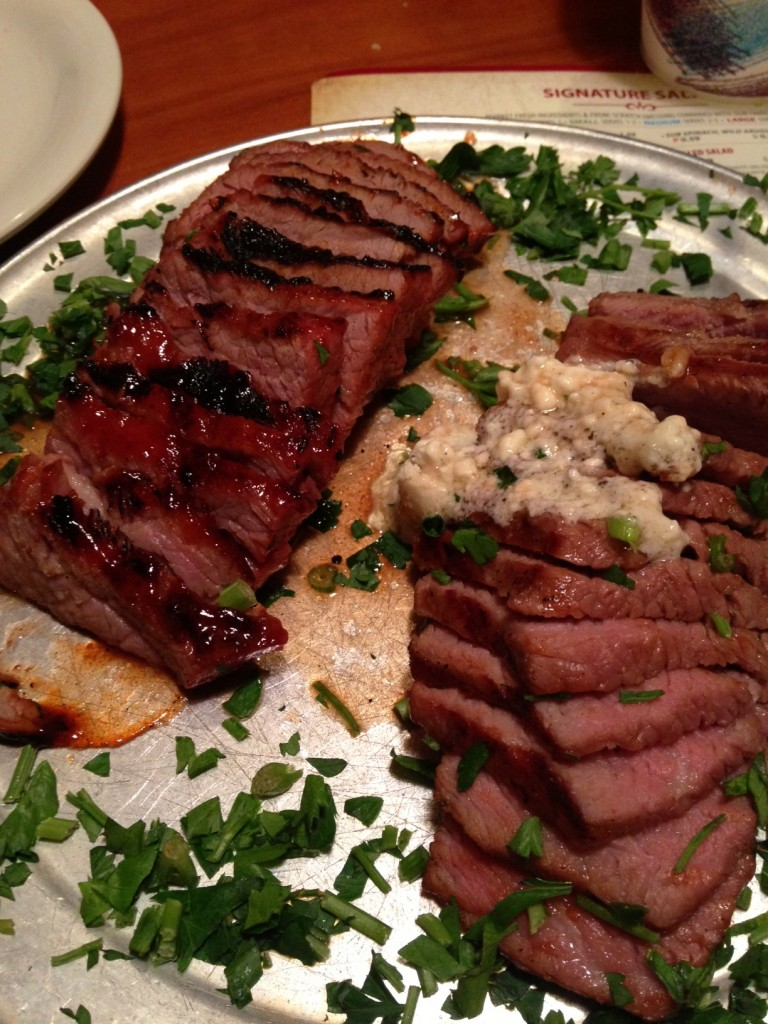 Stonegrill's Tri-Tip is the best in town!