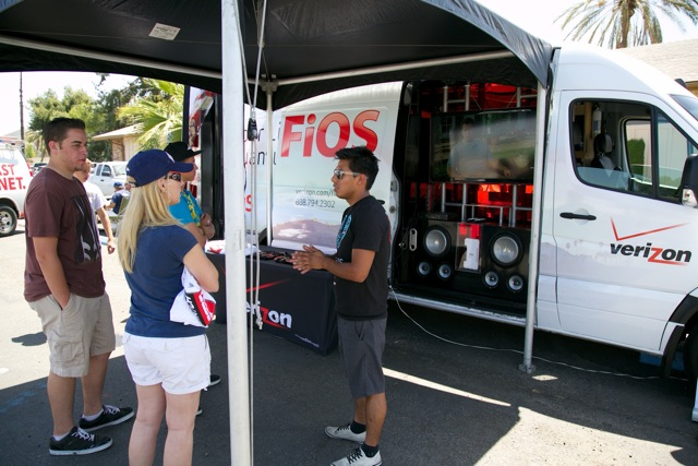 The Verizon FiOS SoCal team is coming out to a city near you!