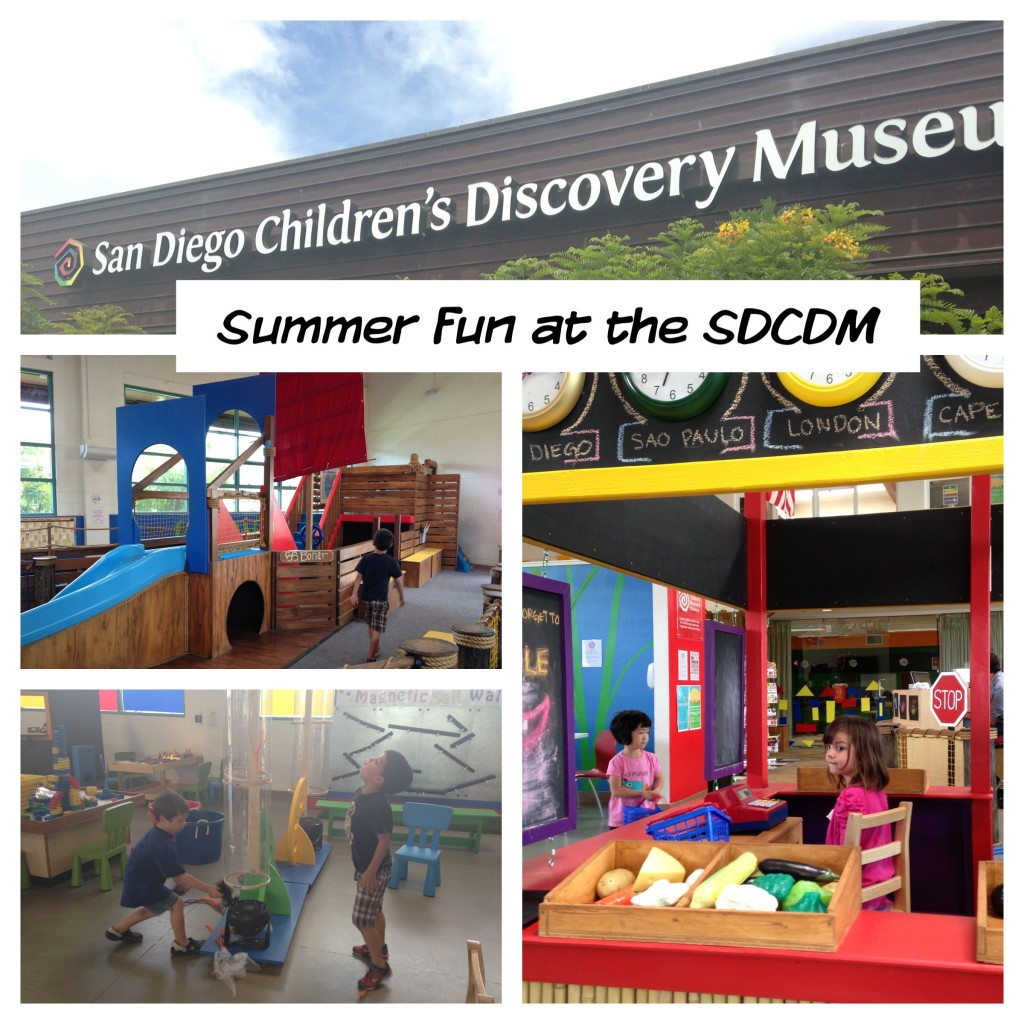 The San Diego Children's Discovery Museum is a fun little place to visit!