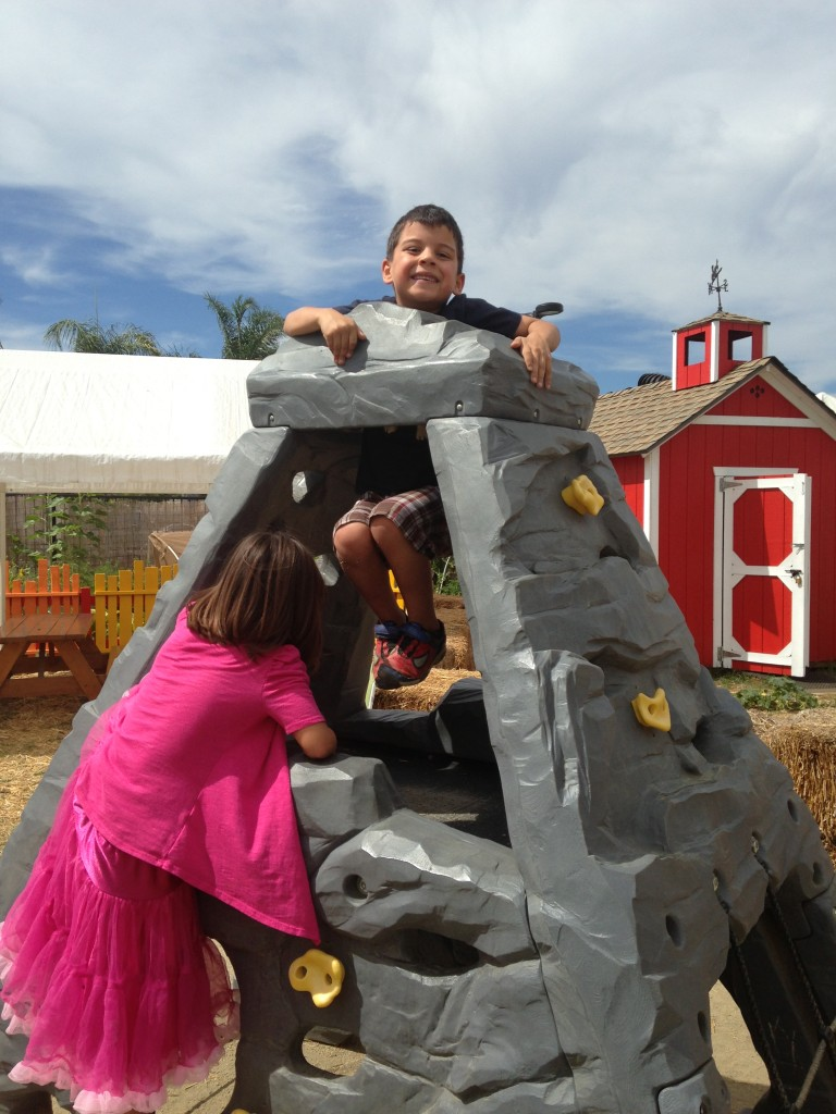 The Children's Discovery Garden was also a favorite area!