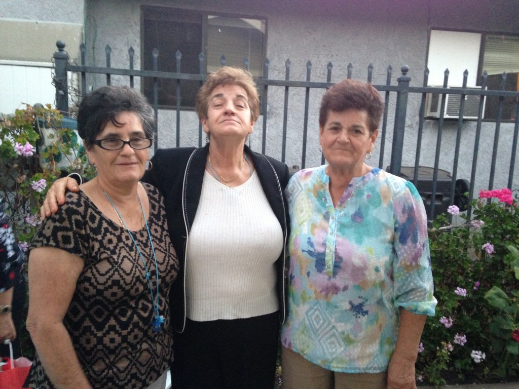 My mami and her hermanas