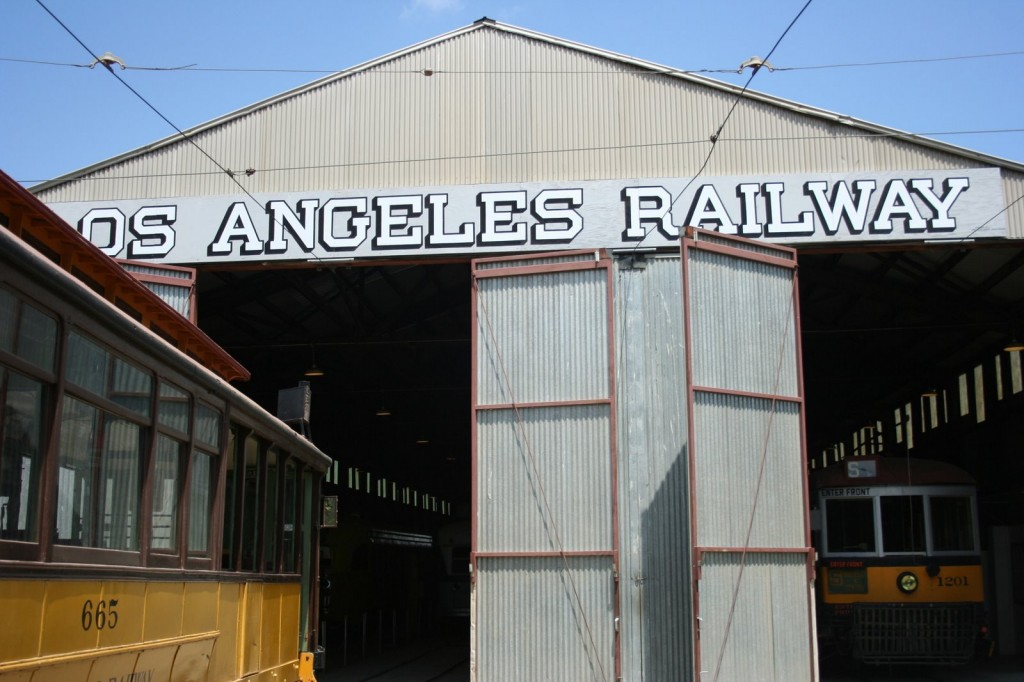 The OERM is home to trolley cars, steam engines, and more.