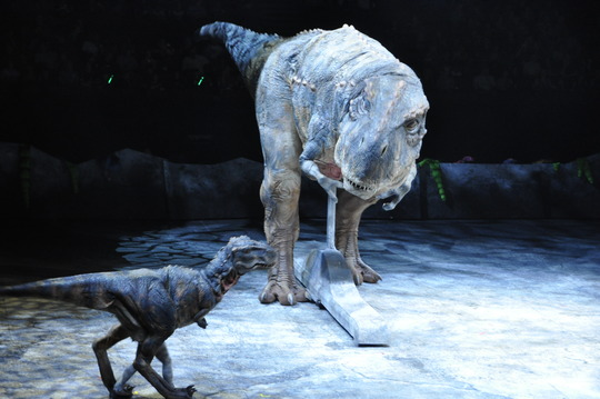 Walking With Dinosaurs is one amazing show!