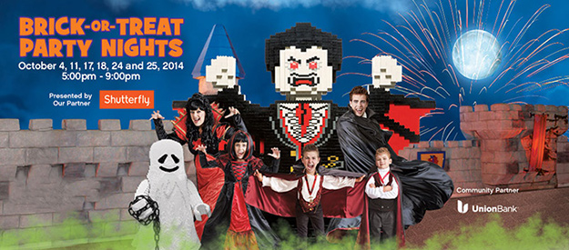 Brick or Treat Party Legoland