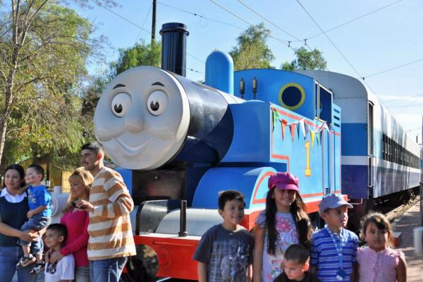 Day out with Thomas - Credit: OERM