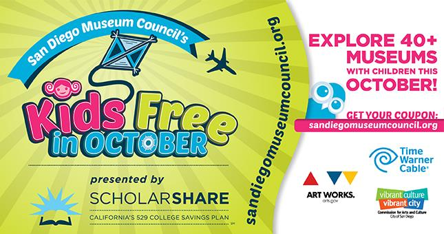 san diego museum council s kids free in october