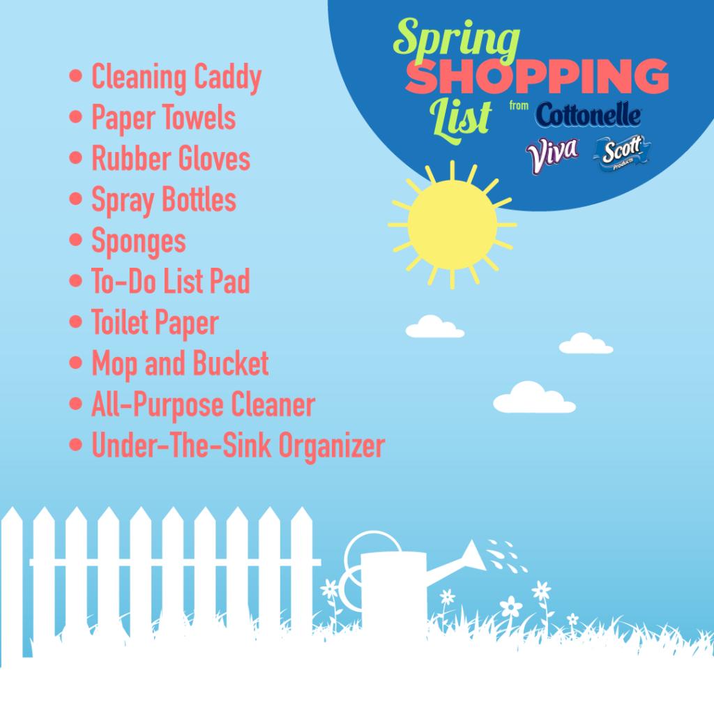 spring clean list